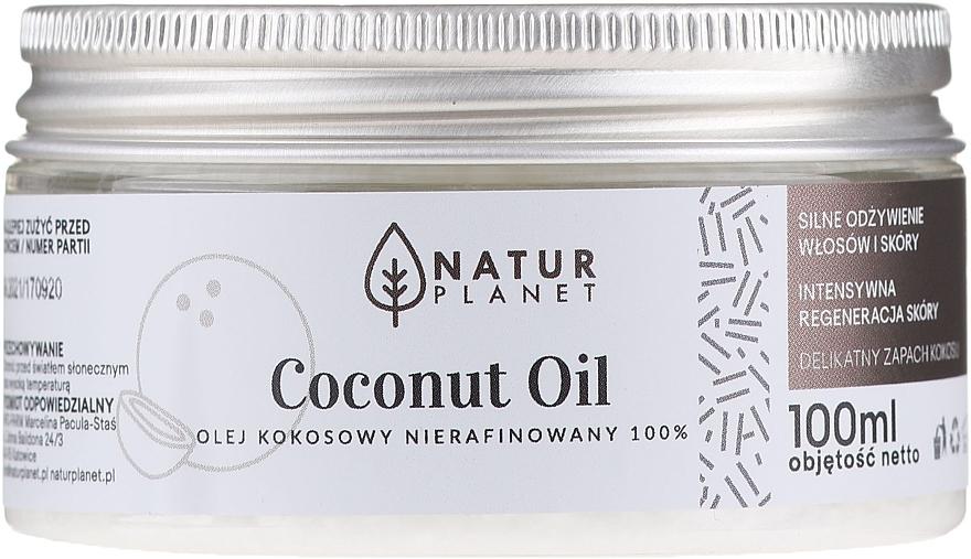 Huile de coco non raffinée - Natur Planet Coconut Oil