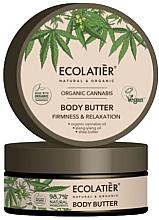 Parfums et Produits cosmétiques Beurre végan à l'huile de chanvre bio pour corps - Ecolatier Organic Cannabis Body Butter