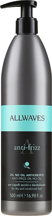 Produit anti-frisottis pour cheveux - Allwaves Anti-Frizz Oil No Oil