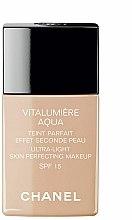 Parfums et Produits cosmétiques Fond de teint - Chanel Vitalumiere Aqua