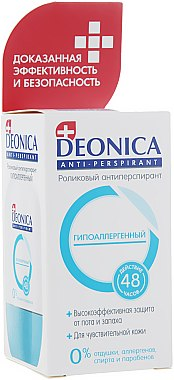Roll-on anti-transpirant hypoallergénique - Deonica — Photo N2