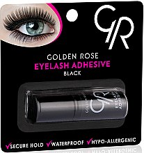 Parfums et Produits cosmétiques Colle waterproof à faux-cils, noire - Golden Rose Eyelash Ahhesive