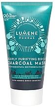 Parfums et Produits cosmétiques Masque au charbon de bouleau pour visage - Lumene Puhdas Deeply Purifying Birch Charcoal Mask
