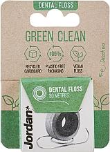 Parfums et Produits cosmétiques Fil dentaire, 30 m - Jordan Green Clean Dental Floss