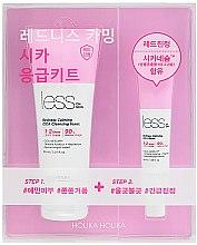 Parfums et Produits cosmétiques Kit soin visage pour peaux sensibles - Holika Holika Less On Skin Redness Calming CICA Emergency Kit (mousse nettoyante visage/150ml + baume apaisanat/40ml)