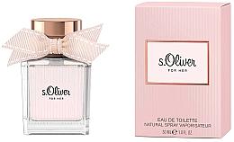 Parfums et Produits cosmétiques S.Oliver For Her - Eau de Toilette