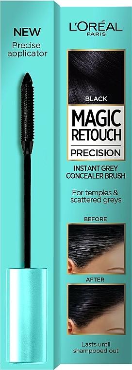 Mascara retouche des racines - L'Oreal Magic Retouch Precision Instant Grey Concealer Brush