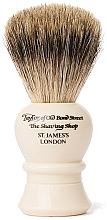 Parfums et Produits cosmétiques Blaireau de rasage, P2234, beige - Taylor of Old Bond Street Shaving Brush Pure Badger size M
