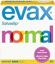 Parfums et Produits cosmétiques Protège-slips Normal, 50pcs - Evax Salvaslip