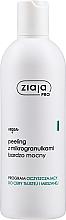 Parfums et Produits cosmétiques Gommage aux microgranules pour visage - Ziaja Pro Very Strong Peeling With Microgranules