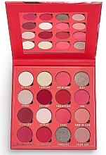 Parfums et Produits cosmétiques Palette de fards à paupières, 16 couleurs - Makeup Obsession Kisses Eyeshadow Palette