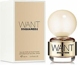 Parfums et Produits cosmétiques DSQUARED2 Want - Eau de Parfum