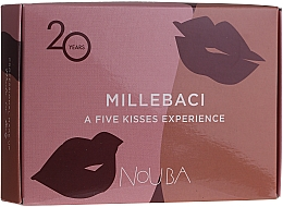 Parfums et Produits cosmétiques Coffret №2 (rouge à lèvres/5x3ml) - NoUBA Millebaci Box Set 5 Kisses Experience