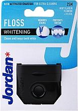 Parfums et Produits cosmétiques Fil dentaire au charbon actif, 25 m - Jordan Whitening Floss