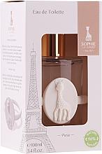 Parfums et Produits cosmétiques Parfums Sophie La Girafe Eau de Toilette - (edt/100ml+acc)