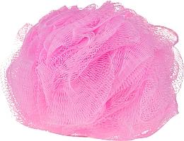 Parfums et Produits cosmétiques Éponge de bain, rose - IDC Institute Design Mesh Pouf Bath Sponges