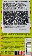 Patchs purifiants au thé vert pour le nez - Beauty Formulas Tea Tree Deep Cleansing Nose Pore Strips — Photo N2