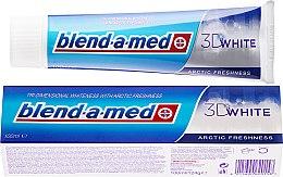 Parfums et Produits cosmétiques Dentifrice blanchissant - Blend-a-med 3D White Arctic Freshness