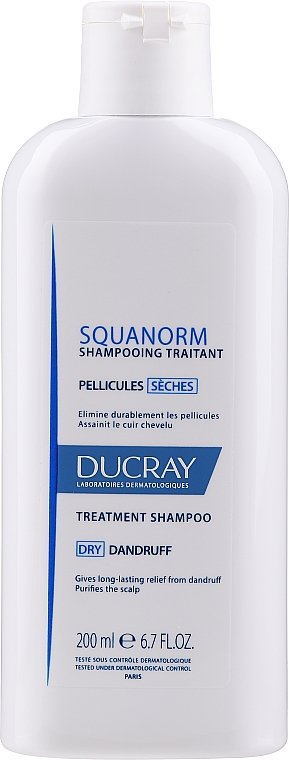 Shampooing anti-pelliculaire - Ducray Squanorm Selezhel Shampoo — Photo N1