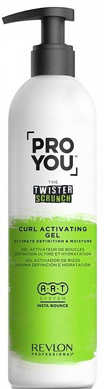Gel activateur de boucles - Revlon Professional Pro You The Twister Scrunch Curl Activator Gel