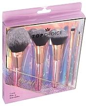 Parfums et Produits cosmétiques Kit pinceaux de maquillage, 37351 - Top Choice Rose Gold