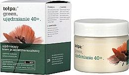Parfums et Produits cosmétiques Crème de nuit raffermissante à l'extrait de graines de pavot - Tolpa Green Firming 40+ Rejuvenating Anti-Wrinkle Night Cream