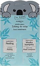Parfums et Produits cosmétiques Marion Dr Koala - Set (exfoliant pieds/6,5ml + masque pieds/6ml)