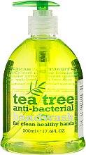 Parfums et Produits cosmétiques Savon liquide à l'arbre à thé pour mains - Xpel Marketing Ltd Tea Tree Anti-Bacterial Handwash
