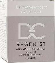 Parfums et Produits cosmétiques Crème de nuit à l'huile d'argan - Dermedic Regenist ARS 4 Phytohial Night Anti-Wrinkle Enhancing Renewal Cream