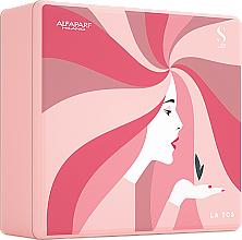 Parfums et Produits cosmétiques AlfaParf Holiday Kit Moisture - Coffret (shampooing/250ml + masque pour cheveux/200ml + cristaux liquides/15ml)