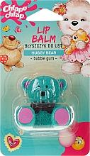Parfums et Produits cosmétiques Baume à lèvres brillant à la cire d'abeille et arôme de chewing-gum pour enfants, Ours - Chlapu Chlap Lip Balm
