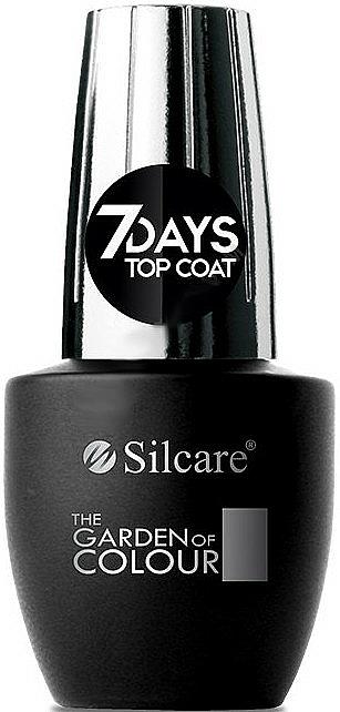 Top coat - Silcare The Garden of Colour Top Coat 7days