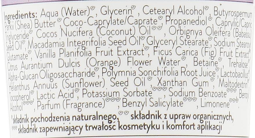 Crème à la vanille et fleur d'oranger pour mains - Bielenda Eco Nature Vanilla Milk, Figs & Orange Blossom Hand Cream — Photo N2