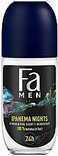 Parfums et Produits cosmétiques Déodorant roll-on sans sel d'aluminium pour homme - Fa Men Ipanema Nights Deo Roll On