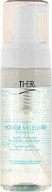 Mousse micellaire sans savon pour visage - Biotherm Biosource Eau Auto-Moussante Nettoyante — Photo N1