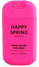Parfums et Produits cosmétiques Spray désinfectant pour mains Hibiscus - HiSkin Antibac Hand Spray Happy Spring