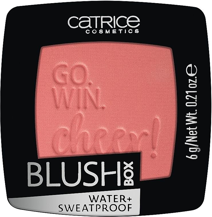 Blush en poudre - Catrice Blush Box