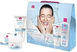 Parfums et Produits cosmétiques Set soin visage - Dermacol Aqua Beauty (crème/50ml + gel/150ml + lotion/400ml)