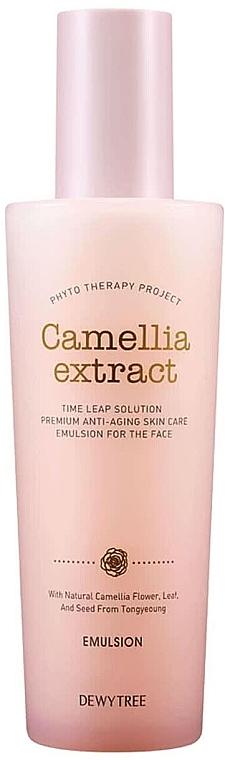 Emultion à l'extrait de feuilles de camélia pour visage - Dewytree Phyto Therapy Camellia Emulsion — Photo N1