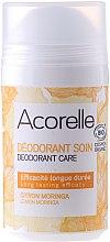 Parfums et Produits cosmétiques Déodorant roll-on bio, arôme citron et moringa - Acorelle Deodorant Care Limone & Moringa
