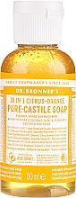 Parfums et Produits cosmétiques Savon liquide Agrumes et orange - Dr. Bronner's 18-in-1 Pure Castile Soap Citrus & Orange