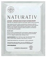 Parfums et Produits cosmétiques Masque apaisant et hydratant à la poudre de riz bio pour visage - Naturativ Face Mask