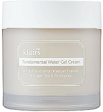Parfums et Produits cosmétiques Gel antioxydant à l'eau de feuille de théier et panthénol pour visage - Klairs Fundamental Watery Gel Cream