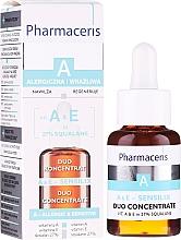 Parfums et Produits cosmétiques Concentré aux vitamines A et E pour le visage - Pharmaceris A A&E Sensilix Duo Concentrate
