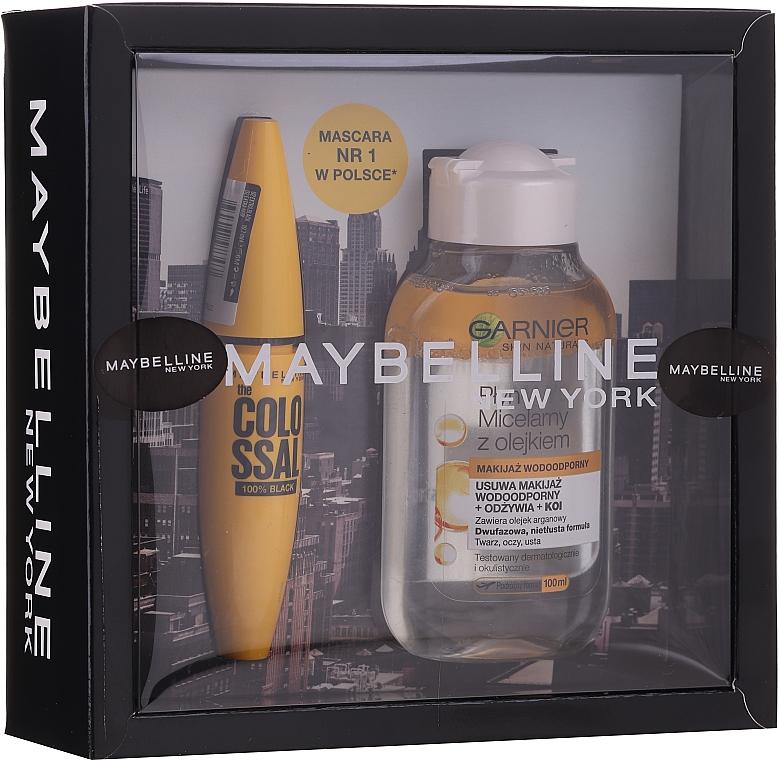 Set (mascara/10.7ml + eau micellaire/100ml) - Maybelline  — Photo N1