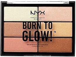 Parfums et Produits cosmétiques Palette d'enlumineurs - NYX Professional Makeup Professional Born to Glow Highlighting Palette