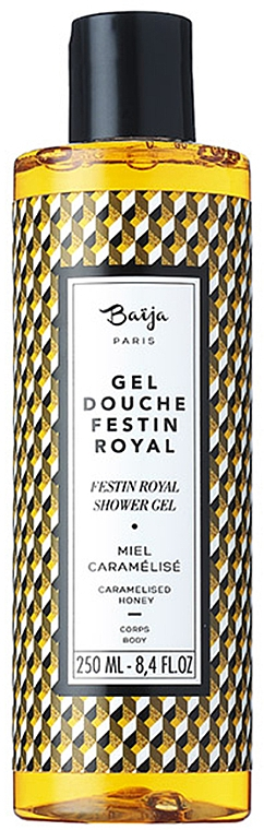 Gel douche à l'huile de coco, Miel caramélisé - Baija Festin Royal Shower Gel — Photo N1