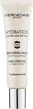 Parfums et Produits cosmétiques Gel à l'acide hyaluronique contour des yeux - Verdeoasi Hydrating Eyes Contour Lifting Effect