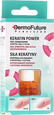Soin revitalisant à la kératine pour les ongles - Dermofuture Keratin Power Nail Conditioner Keratin&Cystine