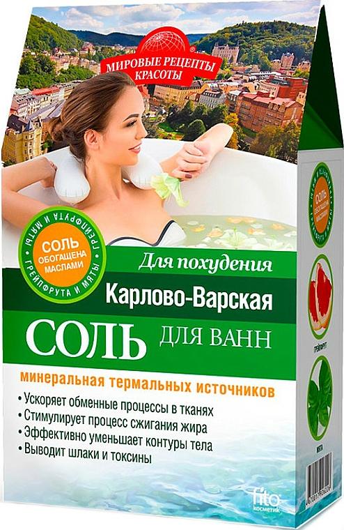 Sels de bain à l'huile de pamplemousse et menthe - Fito Kosmetik